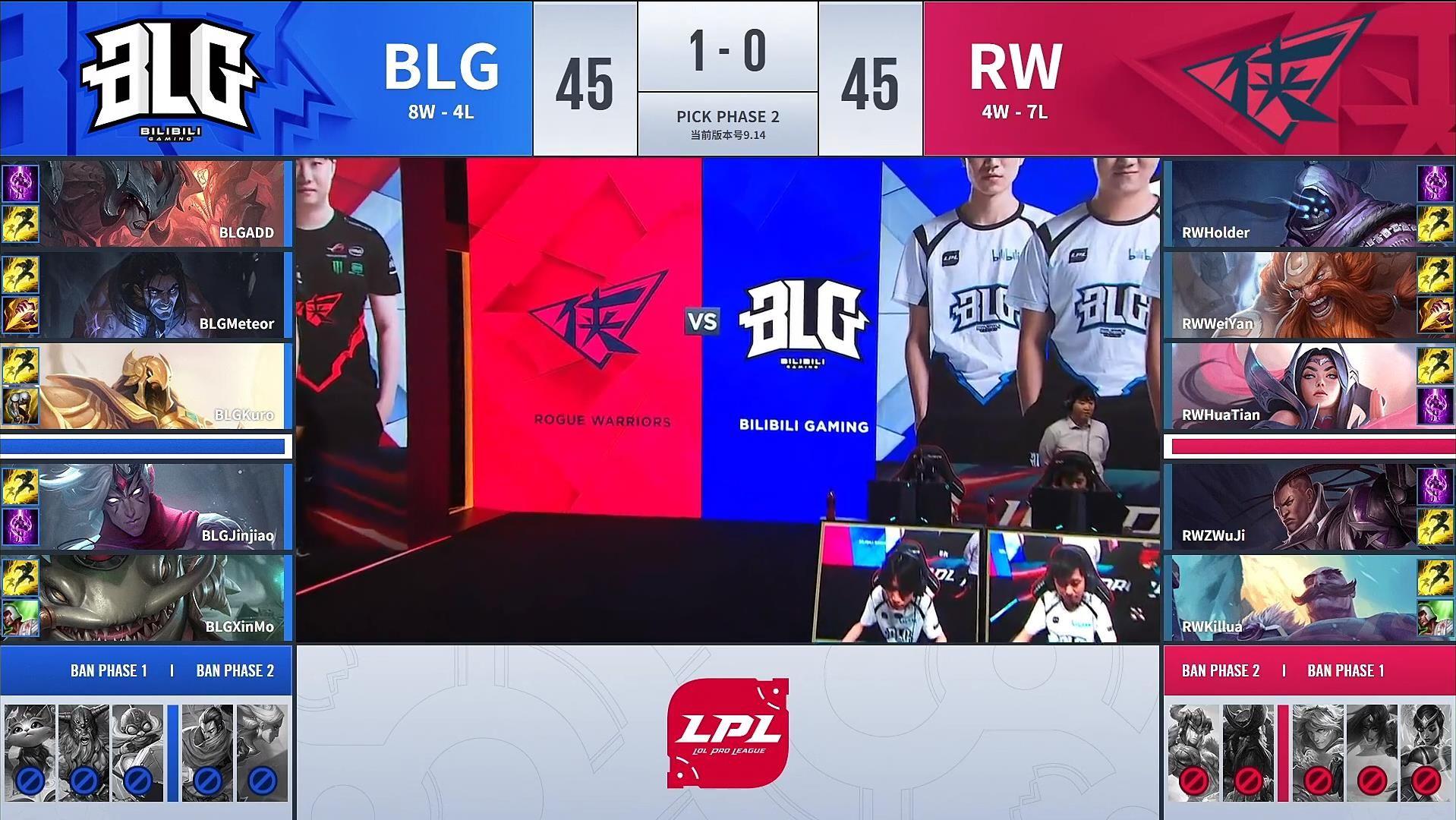 【战报】塞拉斯无敌发挥,BLG碾压RW挺进季后赛